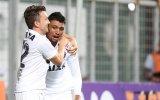 Kieza celebra gol marcado