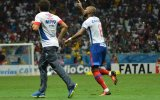 Luiz Antônio vibra com gol