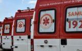 Ambulâncias do Samu estão paradas