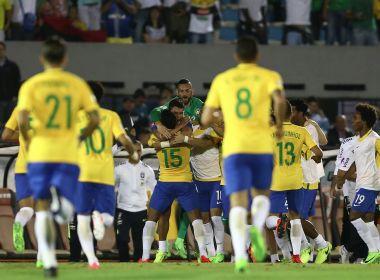 Uruguai 1 x 4 Brasil