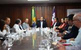 Reunião sobre policlínicas regionais