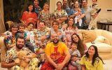 Silvio Santos tem festa do pijama