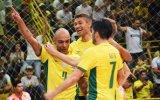 Brasil vence Venezuela no futsal