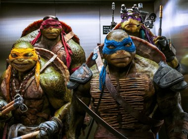 As Tartarugas Ninjas voltam aos cinemas de Salvador com nova história