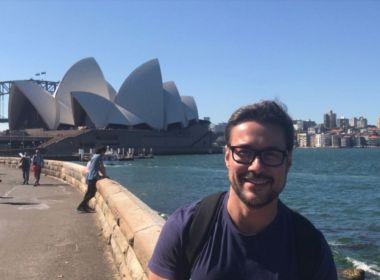 Giro: Rodrigo Queiroz curte dias de descanso na Austrália