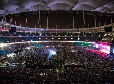 Após intervenções acústicas, Arena Fonte Nova retoma calendário de eventos não-esportivos