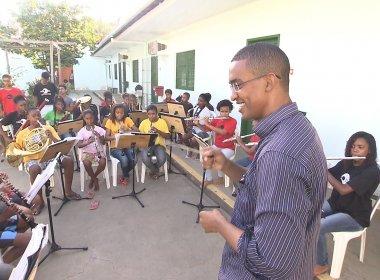 Neojiba e Santa Casa da Bahia inauguram salas de música no Bairro da Paz