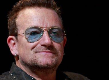 Bono Vox será primeiro homem a integrar lista de 'mulheres do ano' da revista Glamour
