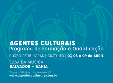Programa de Formação para Agentes Culturais abre inscrições em 16 cidades