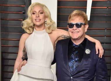 Elton John e Lady Gaga compõem música para novo 'Nasce Uma Estrela'