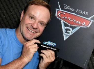 Rubens Barrichello vai dublar personagem da animação 'Carros 3'