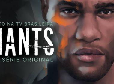 Série americana 'Giants' é lançada em Salvador com a presença de elenco para bate-papo