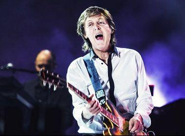 Governo da Bahia banca R$ 700 mil para trazer show de Paul McCartney a Salvador