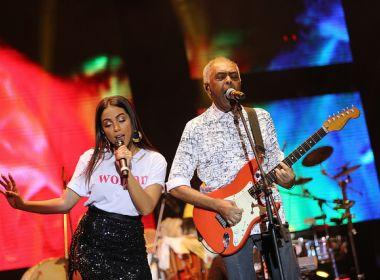 Com Anitta cantando forró, Gil encerra Festival Combina MPB neste domingo