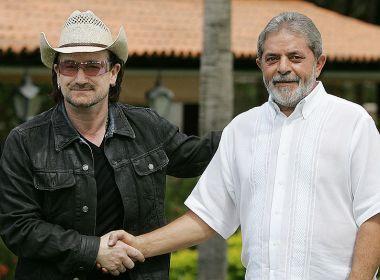 Bono Vox deve acompanhar julgamento de Lula em Porto Alegre, diz senador