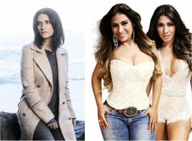 Laura Pausini convida Simone e Simaria para gravar clipe de canção inédita