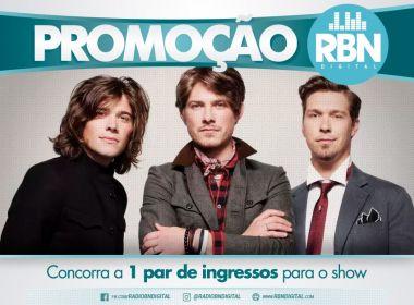RBN sorteia par de ingressos para primeiro show da banda Hanson em Salvador