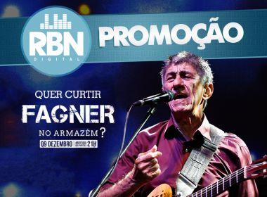 RBN sorteia três pares de ingressos para show de Fagner
