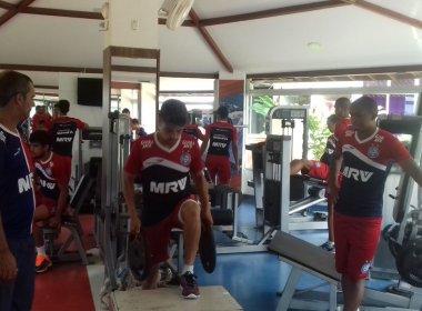 Bahia se reapresenta com treino físico no Fazendão