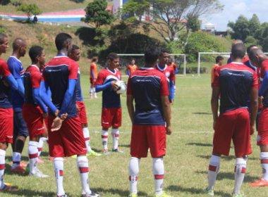 Baiano sub-20: Bahia encerra preparação para enfrentar Catuense
