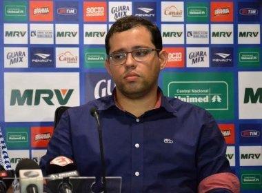 Após classificação, vice do Bahia critica arbitragem e Alexi Portela