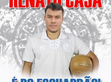 Renato Cajá celebra contrato com o Bahia e fala sobre Emirados Árabes: 'Decisão infeliz'