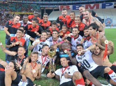 Em clássico tenso, Vitória sofre derrota mas conquista o Campeonato Baiano de 2016