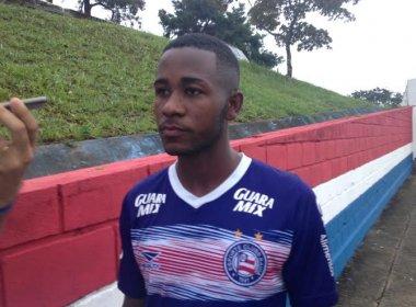 De volta após empréstimo, João Paulo Penha será avaliado pela comissão técnica do Bahia