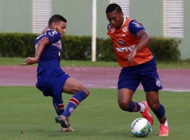 Com treino tático em Pituaçu, Bahia finaliza preparação para enfrentar o Joinville