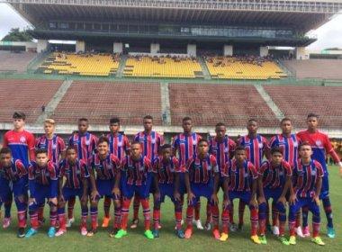 Sub-15 do Bahia goleia MAF e vai à final da Copa Metropolitana