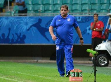 Técnico do Bahia indica mudanças na equipe para duelo contra o Bragantino