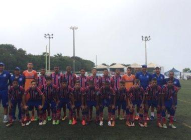 Equipes das divisões de base do Bahia vencem amistosos