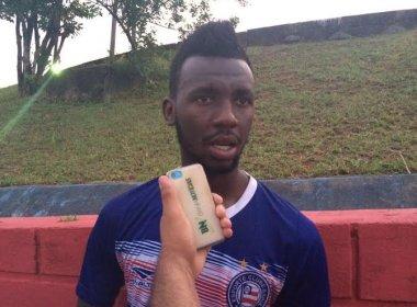 Contente com o Bahia, Allano mira primeiro gol: 'Trabalhando bastante'