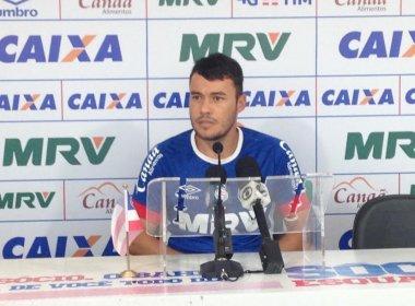 Renato Cajá pede atenção para jogo contra o Paraná: 'É uma equipe rápida'