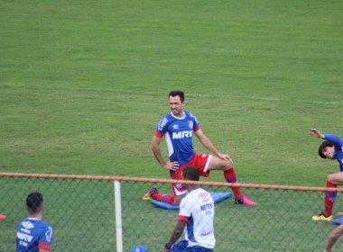 Vai voltar? Thiago Ribeiro reaparece e treina no Fazendão