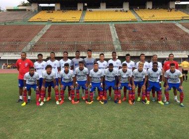 Salvador Cup: No Barradão, Bahia vence o Palmeiras por 1 a 0