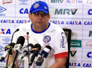 'Eu quero os três pontos', diz Guto Ferreira sobre jogo contra o Criciúma