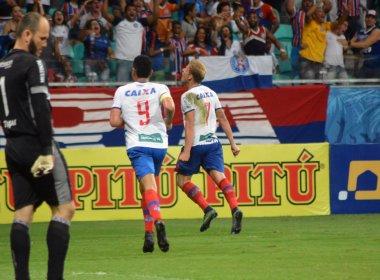 Bahia vence Brasil de Pelotas e entra provisoriamente no G4 da Série B