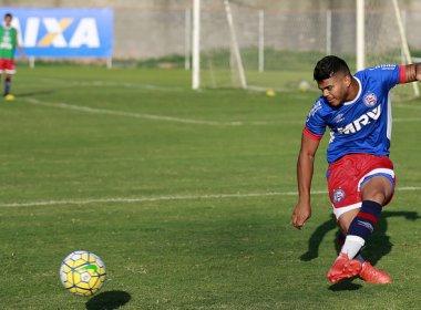 Copa do Brasil sub-20: Bahia faz último treino antes de viagem para o RJ