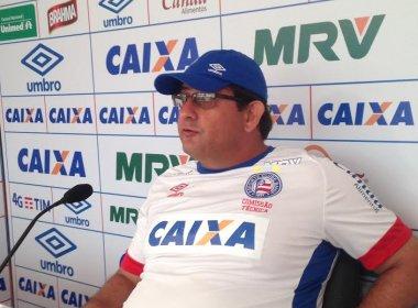 'Secada' nos rivais? Guto Ferreira rechaça: 'O Bahia só depende dele'