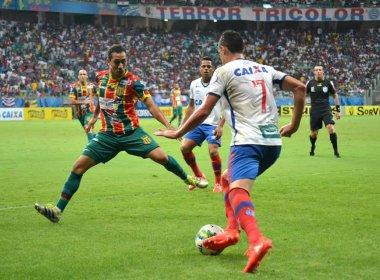 Com gol salvador de Hernane, Bahia vence Sampaio Corrêa e segue vivo no G-4 da Série B