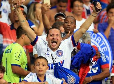 38 mil ingressos estão vendidos para o duelo entre Bahia e Bragantino