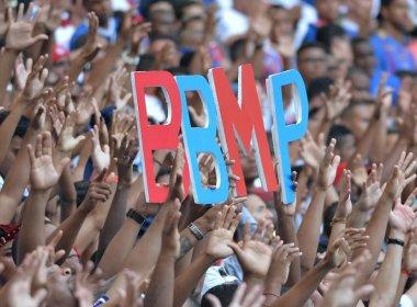 Torcida do Bahia quebra recorde e esgota ingressos para jogo contra o Bragantino