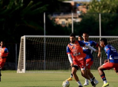 Sub-20: De olho na bola parada, Bahia finaliza preparação para final contra o São Paulo