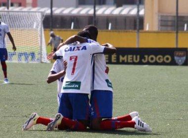 De virada, Bahia vence Trindade na estreia da Copa São Paulo de Futebol Júnior