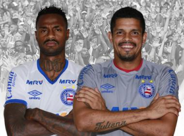 Bahia anuncia renovação com volante Renê Júnior e goleiro Anderson