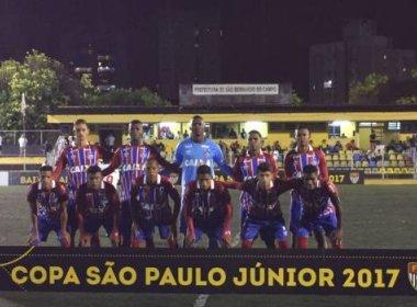 Bahia enfrenta Cruzeiro na próxima fase da Copa SP; confira data e horário