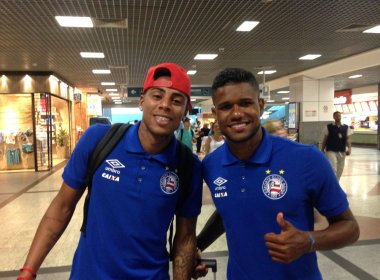 Elenco do Bahia embarca para a Florida Cup; veja vídeo