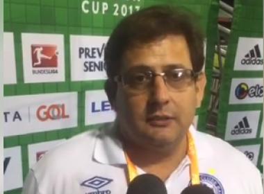 Após derrota, Guto Ferreira avalia participação do Bahia na Florida Cup