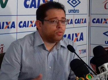 Henriques confirma dois times do Bahia entre estadual e NE: 'Vamos rodar o elenco'